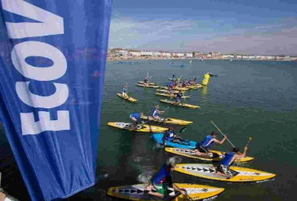 MAKING A SPLASH: The Ecover Blue Mile is in Weymouth this weekend