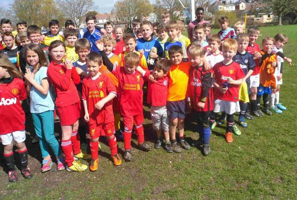 FUN IN THE SUN: Players at a previous Redlands soccer school