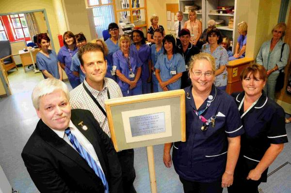'Superb' new look for day surgery unit