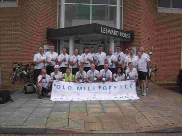 Miles add up for cycle fundraisers
