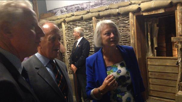 Kate Adie opens new First World War exhibition at The Keep