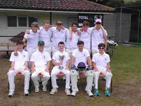 CHAMPIONS: Puddletown Under-18s