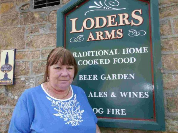 TARGETED: Carolyn Bowmaster at the Loders Arms