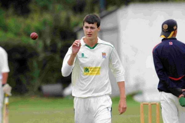 EARLY WICKET: Bridport's Liam Toohill