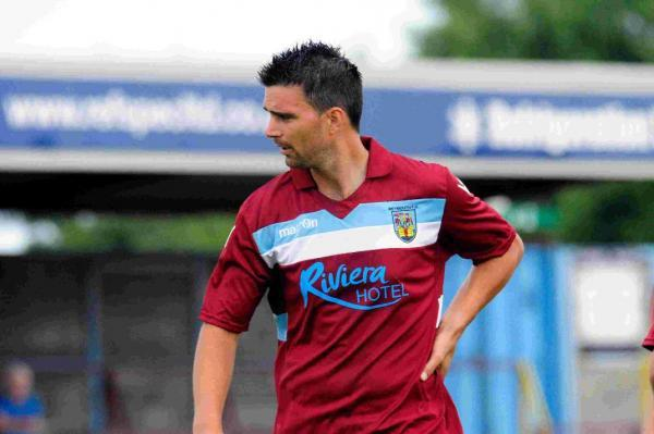 REUNION: Weymouth striker Tim Sills