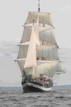 JOINING THE PARTY: The Weymouth Tall Ship Pelican