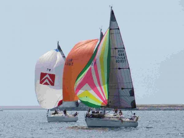 SETTING SAIL: Action at the Keelboat Championships