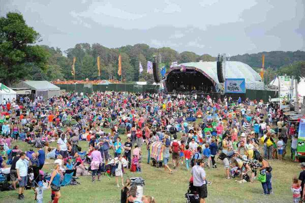 Bestival festival gets off to a lively start