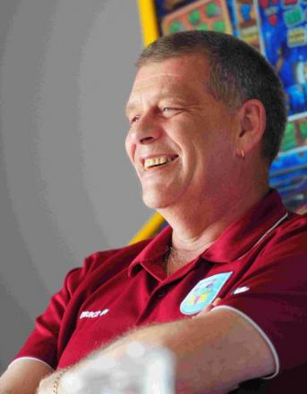 OPTIMISTIC: Weymouth chairman Nigel Biddlecombe