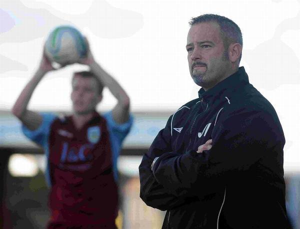 PREPARED: Weymouth Reserves manager Jake Richmond