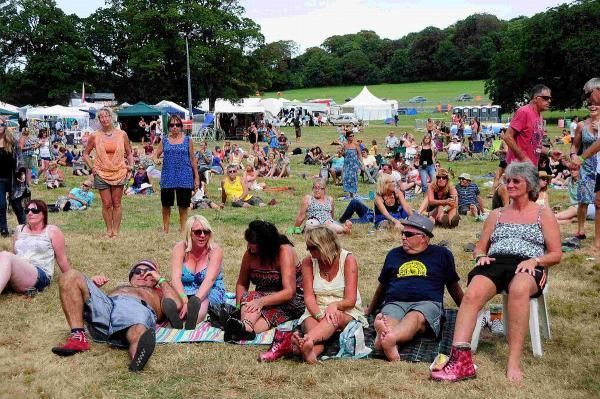 CASH PROBLEMS: Crowds at the Forever Sun festival