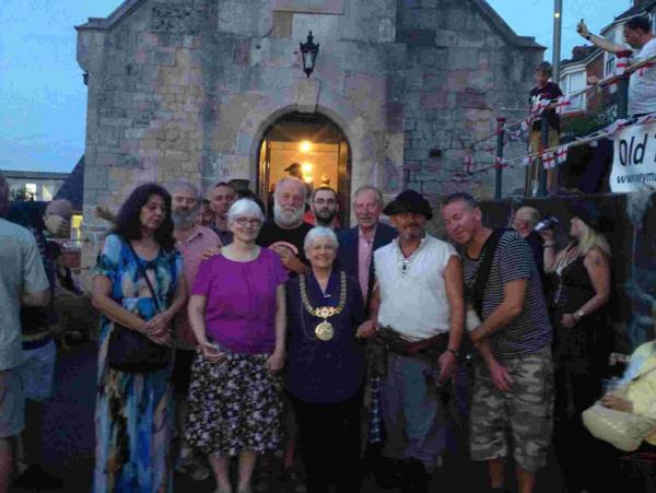 The mayor of Weymouth and Portland was the first 13 to ring original bell