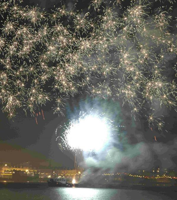 Resort fireworks coming back with a bang for bank holiday