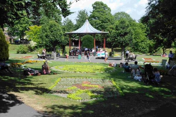 The Bandstand in Dorchester Borough Gardens