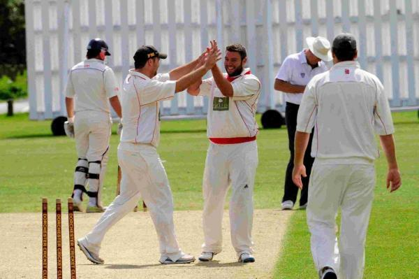 STRIKE BOWLER: Dorchester skipper Dan Belt