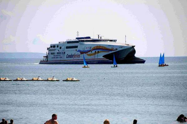 Condor Ferries' future in resort remains uncertain