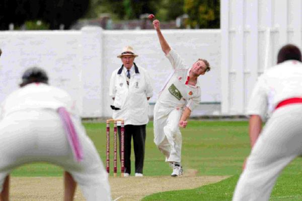 TWO WICKETS: Eamonn Scott