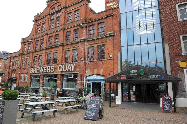 CARRYING ON: Brewers Quay