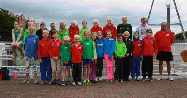 NATIONAL CHAMPIONS: Dorset Pentathletes in Salford
