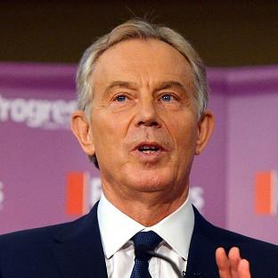 Tony Blair congratulated the Egyptian government on its successful negotiations between Israel and the