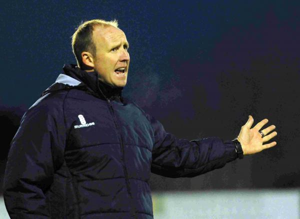 IN CHARGE: Caretaker-manager Stuart Heath