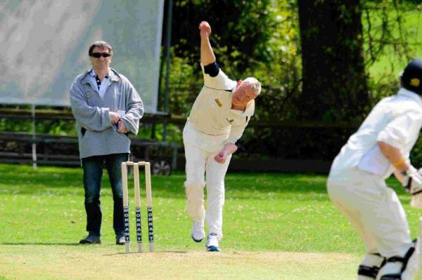 TWO WICKETS: Beaminster's Aidey Phillips