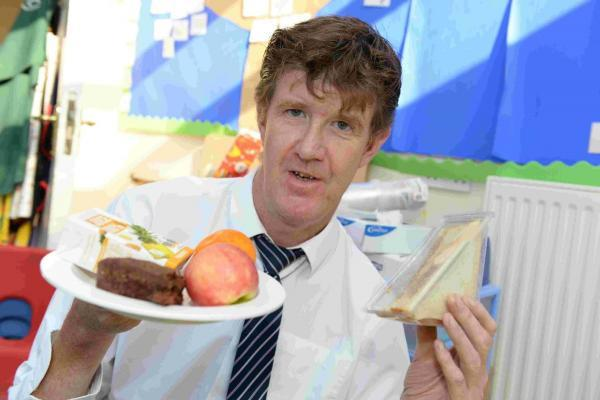 Cheselborne School Head teacher Bob Duffin after the school meals fiasco