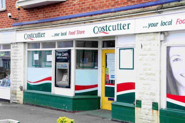 The robbery took place outside Costcutter on Portland Road