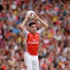 Dorset Echo: Hector Bellerin will add to his solitary senior appearance for Arsenal on Tuesday night