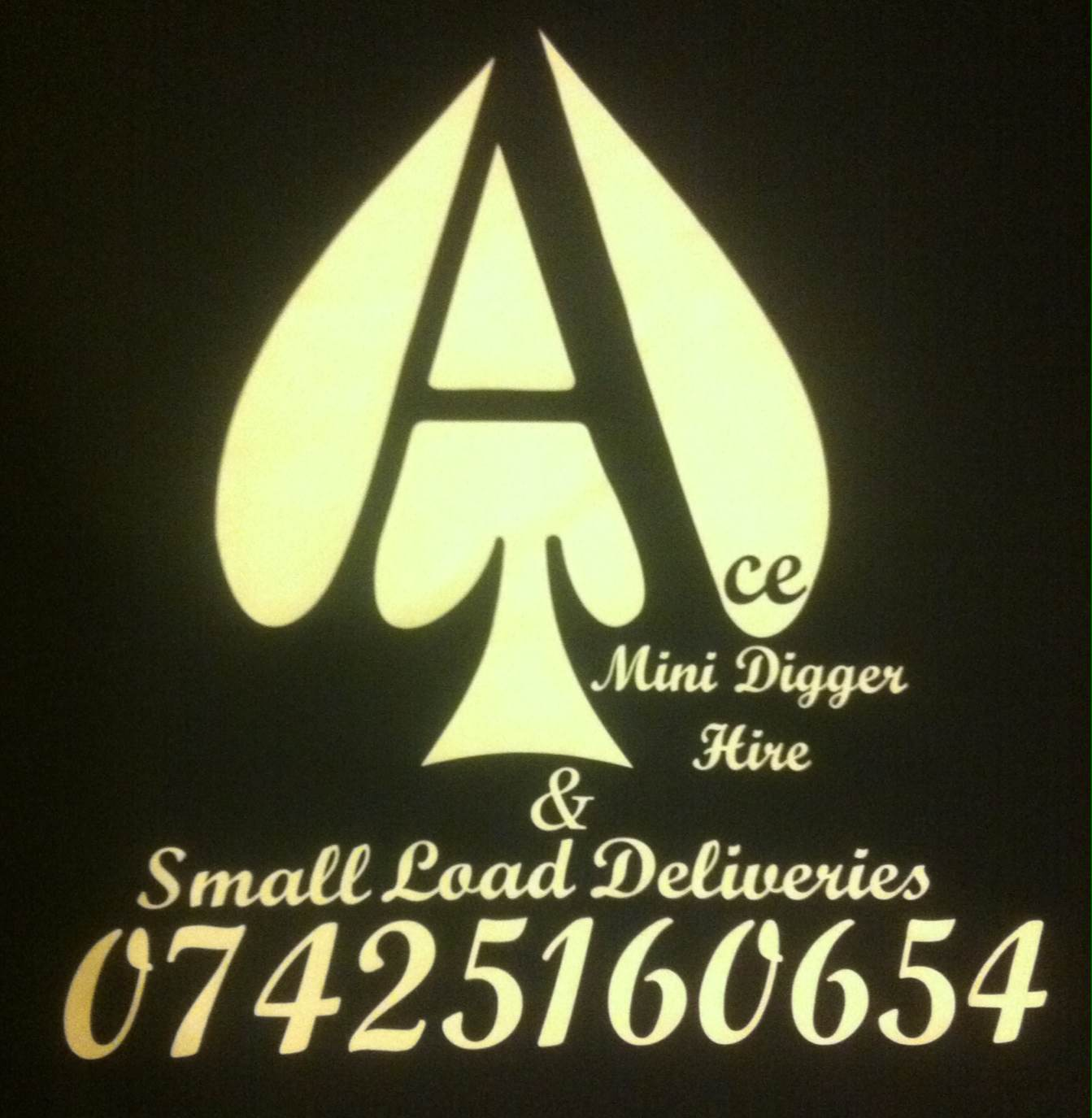 Ace Mini Digger Hire & Small load deliveries