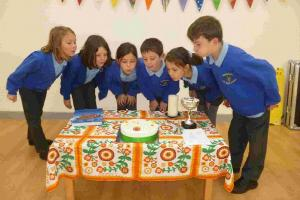 School celebrates its first birthday in its new building