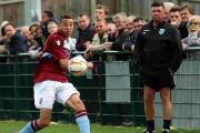 BROTHERLY LOVE: Calvin Brooks in action for the Terras
