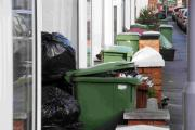 MISSED COLLECTIONS: Rubbish piling up in Melbury Road, Weymouth