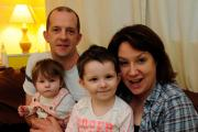 Weymouth family on Children In Need raise awareness of brain tumours