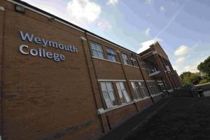 Weymouth College principal suspended from post