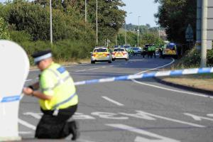 INQUEST: Motorcyclist who collided with woman on Weymouth Way 'was speeding'