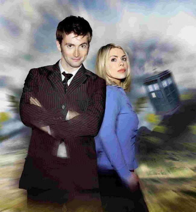 David with Billie Piper