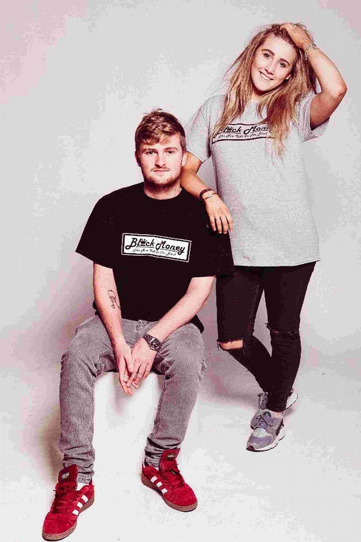 ENTREPRENEURIAL SPIRIT: T-shirt designs by Weymouth College students