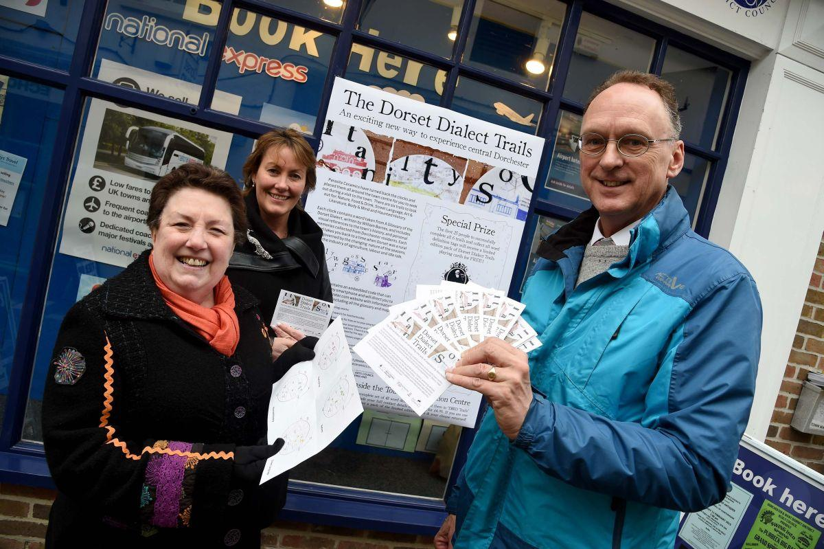 New Dorchester trails celebrate Dorset dialect
