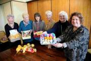 Easter chicks are hatching creme eggs with the Lets Make It  project members