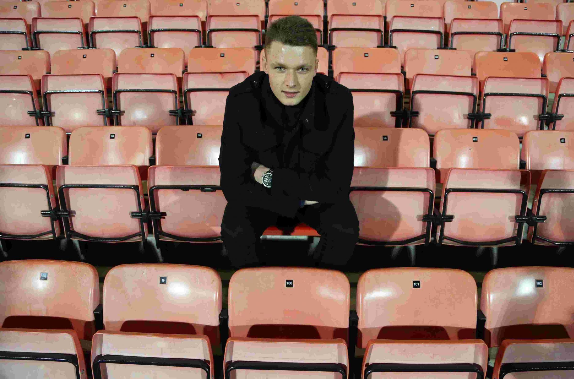 HE'S A KEEPER: New Weymouth signing Jordan Seabright Picture: BOURNEMOUTH ECHO