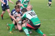 TRY TIME: Daragh McLoughlin crosses for Bridport