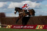 ON THE CHARGE: Tom Scudamore on board Phone home in the Win A Holiday To Sri Lanka Handicap Chase