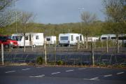 Travellers asked to move on after arriving at Weymouth Park and Ride