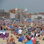 Dorset Echo: A busy Weymouth Beach - 260813, Picture GRAHAM HUNT HG11136 (27720731)