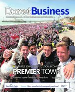 Dorset Echo: Dorset Business June 2015 cover
