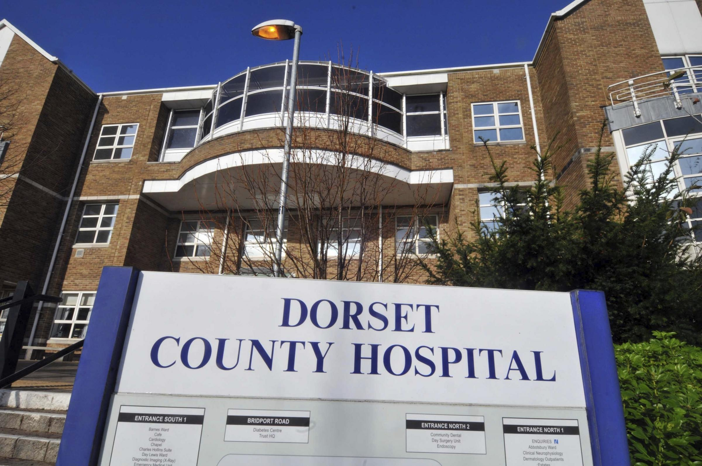 Dorset County Hospital, 041109, Picture: FINNBARR WEBSTER F9525 (32112417)