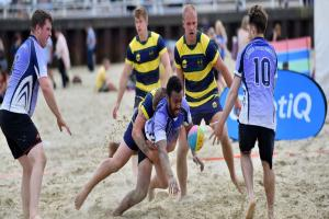 Beach rugby: Forces festival is a day to remember
