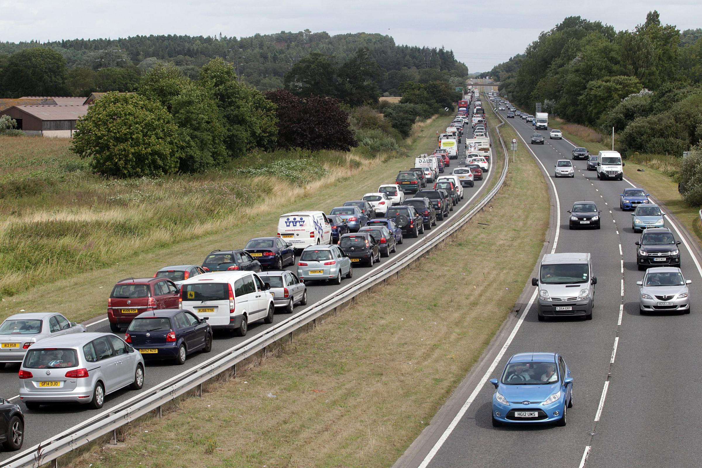 A338 rebuild: Hospital patients warned to allow extra time for appointments