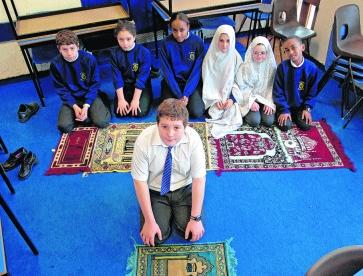 Image result for muslim school prayer